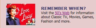Remember When - 50's Web
